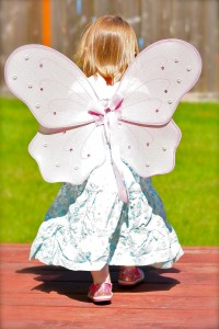 butterfly girl 2