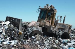 Landfill_compactor