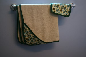 Recycled Hooded Baby Towel