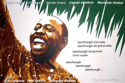 Mural of Ken Saro-Wiwa