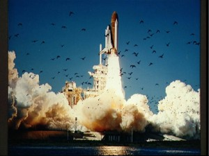 Space Shuttle Challenger Launch 1986