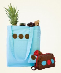Three Dot Reusable Bags