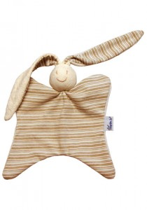Keptin-Jr Organic Rattle ~ Natural Rabby