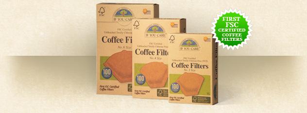 FSC certified coffee filters