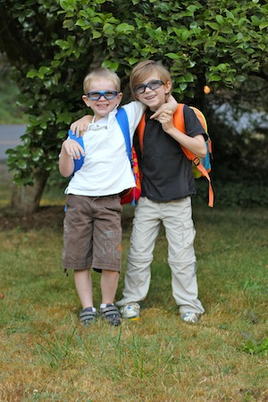 The Boys Off To School - Back to School