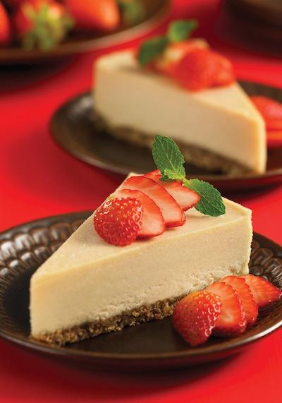 Raw Cashew Cheesecake