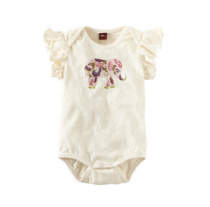ADIK ELEPHANT ROMPER from Tea Collection