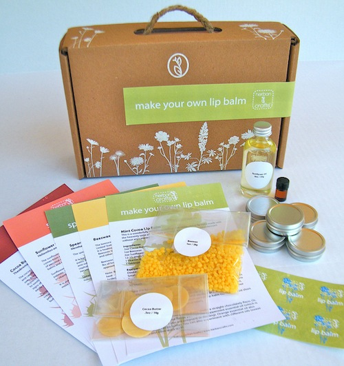 Herban Crafts - Make Your Own Lip Balm Kit