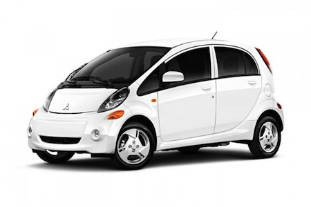 Mitsubishi i 100% Electric Car