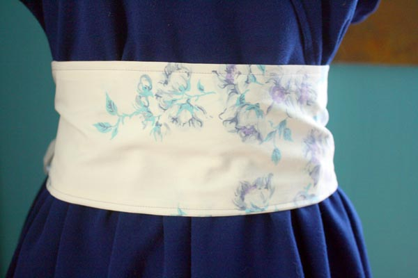 Vintage Pillowcase Craft - Pillowcase Belt