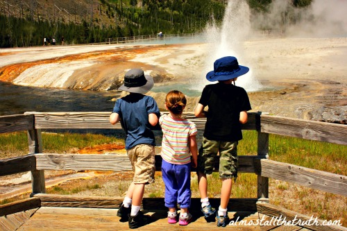 Almost  All The Truth - Black Sand Basin in Yellowstone