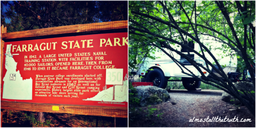 Almost All The Truth - Farragut State Park in Idaho