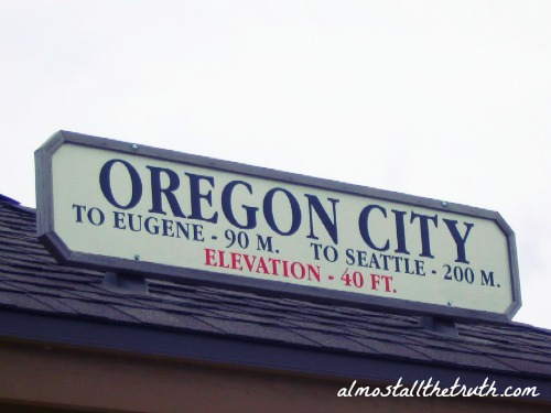 Oregon City Train Station