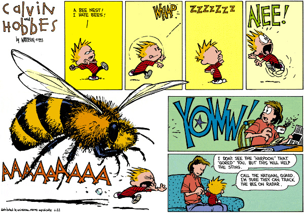 Calvin and Hobbes - Meet Giant Bee
