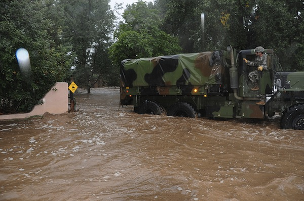 Colorado National Guard - Colorado Flooding
