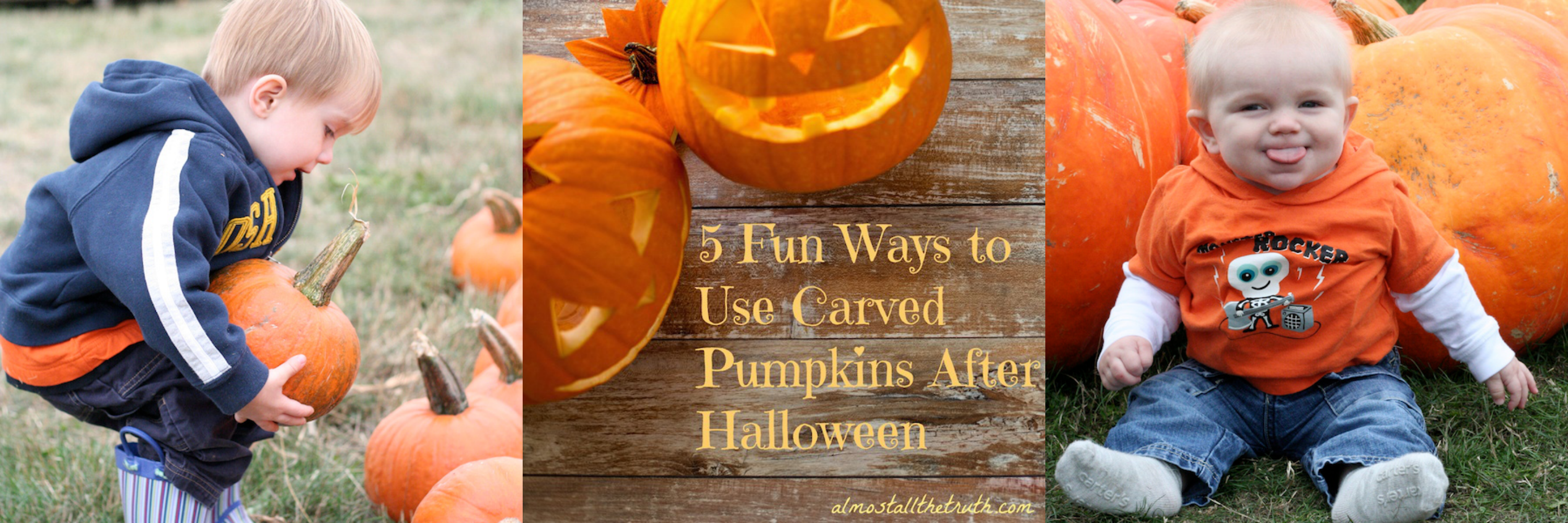 5 Fun Ways to Use Carved Pumpkins After Halloween