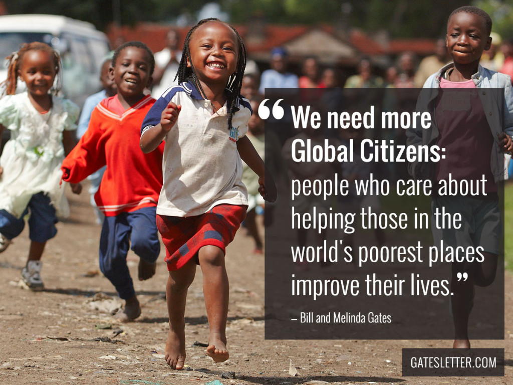 Annual Gates Letter - Global Citizens